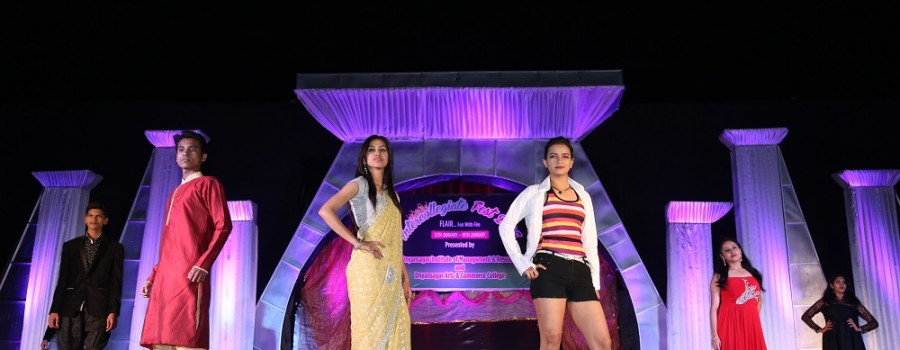 Intercollegiate-Fashion show